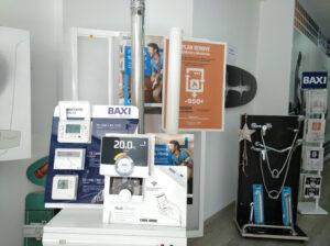 Exposición de calefacción en Alcoy